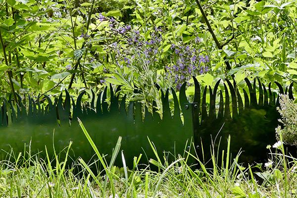 Jardin  aromatique de 1m par 50cm délimité par GrassBorder