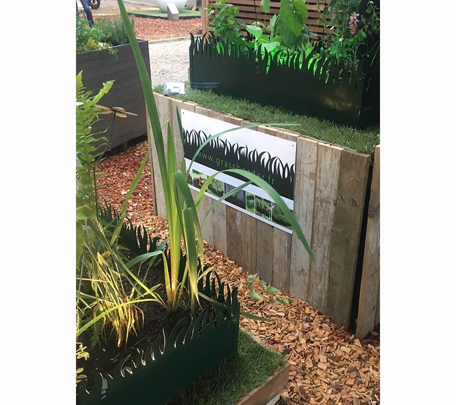 GrassBorder sur Jardins Jardin